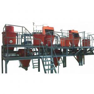 Линия по производству гранулированного пеностекла и пеностеклокерамики